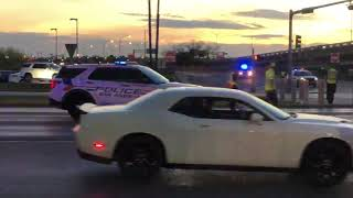Sand Truck and Sports Car Collide on North Bryant | San Angelo, TX