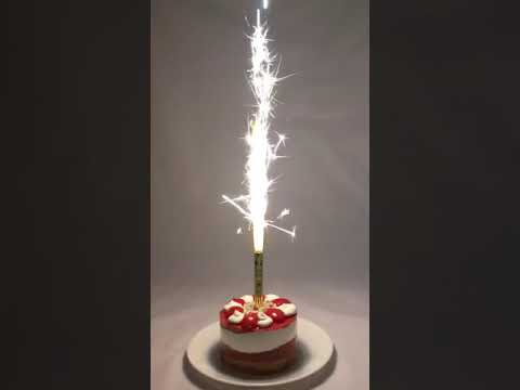 Smokeless Cake Fountain Bottle Sparkler By Rocketca
