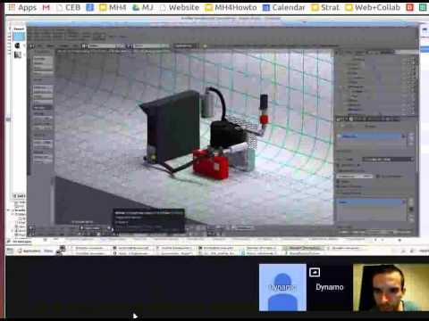 Open Source Gasifier in Blender