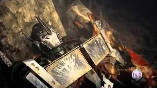 Optimus prime regresa después de una gran explocio