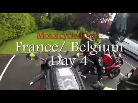 Motorcycle Tour to France and Belgium 2015 - Day 4