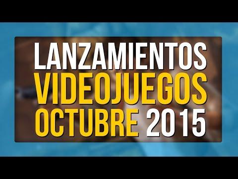 LOS VIDEOJUEGOS QUE SALEN EN OCTUBRE 2015
