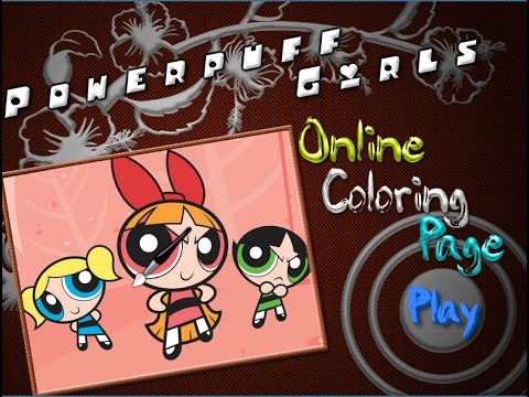 Powerpuff Girls Coloring Pages For Kids - Powerpuff Girls Coloring ...