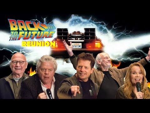 Back to the Future Reunion - FanExpo - Michael J Fox