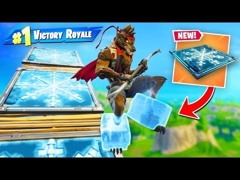 *NEW* Mega FREEZE Trap Slide In Fortnite!