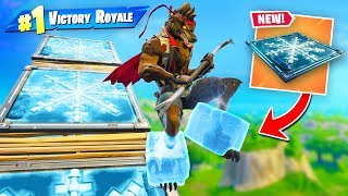 *NEW* Mega FREEZE Trap Slide In Fortnite!