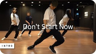 Don't Start Now - Dua Lipa | Fewon Choreography | INTRO Dance Music Studio