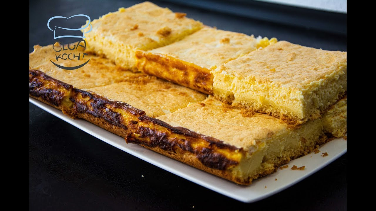 Käsekuchen im Backblech | Luftig und Fluffig