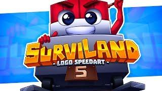 Minecraft SpeedART - Surviland 5 Logo   Eonofre