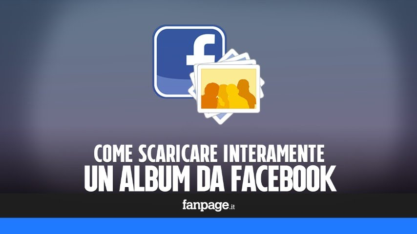 Come scaricare un album di foto da facebook