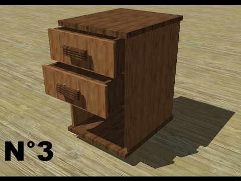 tuto google sketchup n 3 meuble de maison youtube. Black Bedroom Furniture Sets. Home Design Ideas