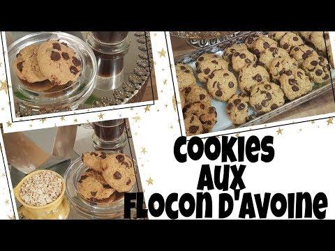 cookies-/-gateaux-au-flocon-d'avoine