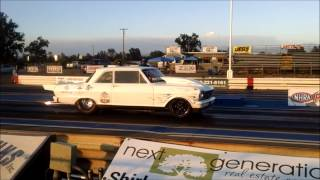 Lance Rhoades at Redding Drag Strip Muscle Car Mania