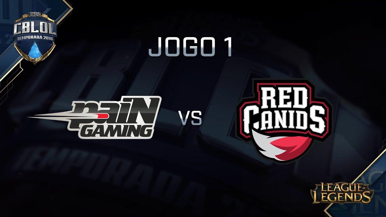 Resultado de imagem para RED Canids vs paiN Gaming