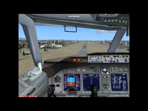 Dalian Crosswind Landing