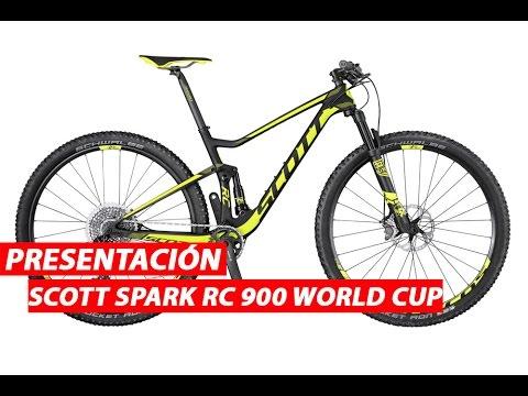 Presentaciones Bicicletas Scott Spark Rc 900 World Cup 2017