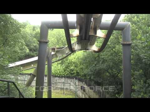 Nemesis Front Row Seat on-ride HD POV Alton Towers