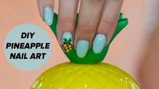 Easy Pineapple Nail Art Tutorial | Style Survival