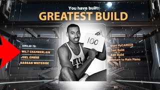 Greatest Build In NBA 2K20! How To Create The Wilt Chamberlain 100 Point NBA 2K20 Build! *Patch 10*