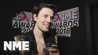 james bay im excited to play shows again vo5 nme awards 2018