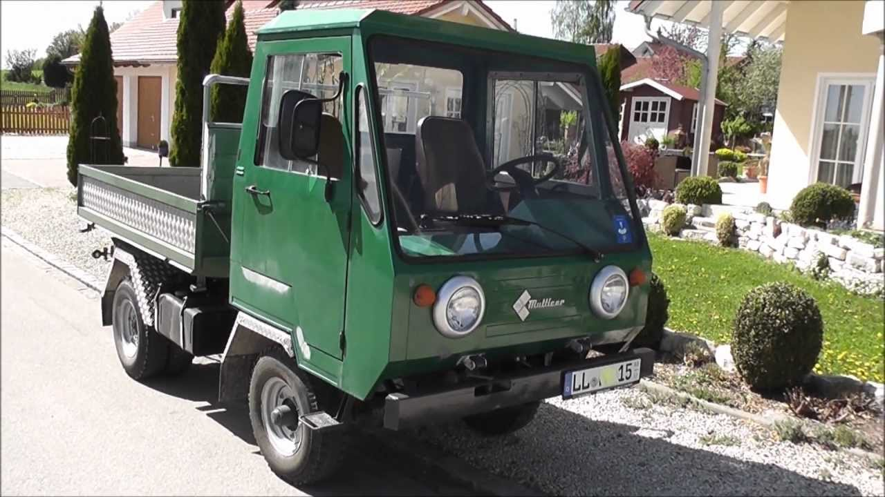 multicar m25 youtube