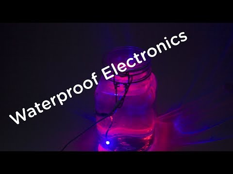 Waterproofing electronics (arduino under water)