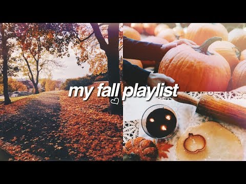 FALL MUSIC PLAYLIST 2017! my current favorite songs!
