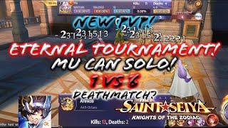 Saint Seiya: Awakening (KOTZ) - New PvP: Eternal Tournament! Exciting PvP Mode! Mu can win 1 vs 5!