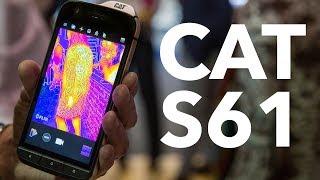 CAT S61 im Test: das Handwerker-Smartphone im Hands-on | deutsch
