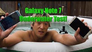 Galaxy Note 7 Underwater Test! - Will It Survive?