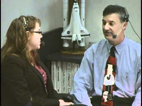 O'Rourke Nasa TV interview