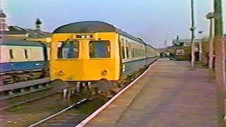 Trains at Lincoln  -  1985