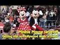 Minnie Mouse send-off celebration for star on Hollywood Walk of Fame