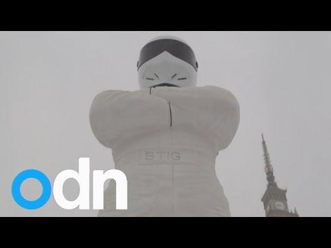 Top Gear unveils new 'Big Stig' statue in Poland