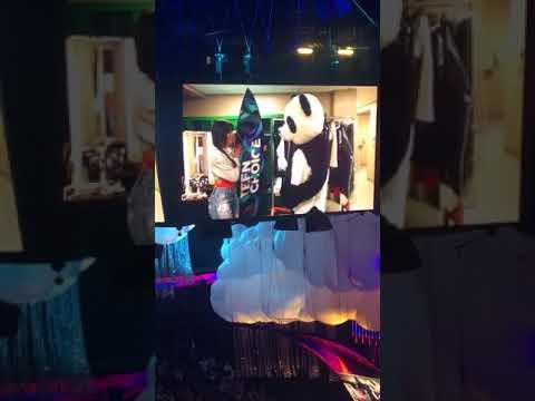 Camila Cabello kissing panda and winning live at Teen Choice Awards 2017 Los Angeles, CA 8.13.17! HQ
