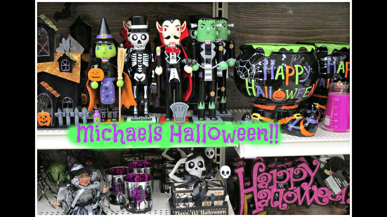 halloween time at michaels 2016 - Michaels Halloween