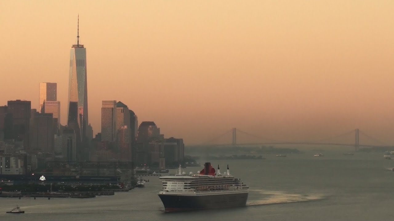 Cruise Ships Visiting New York City Part YouTube - What cruise ships leave from nyc