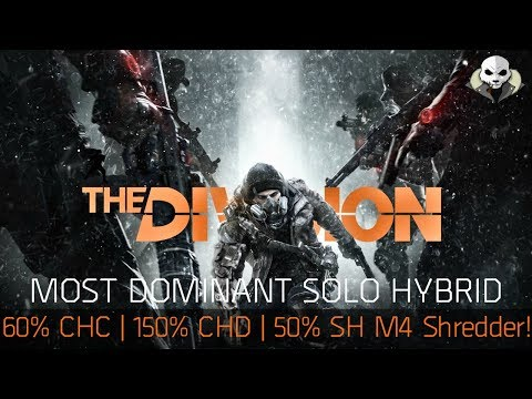 The Division 1.6.1 - The ULTIMATE PVP SOLO HYBRID BUILD - INSANE DAMAGE SHREDDER & SURVIVABILITY!!