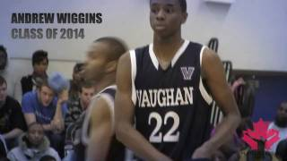 15 year old basketball phenom Andrew Wiggins mix from Early Bird Classic