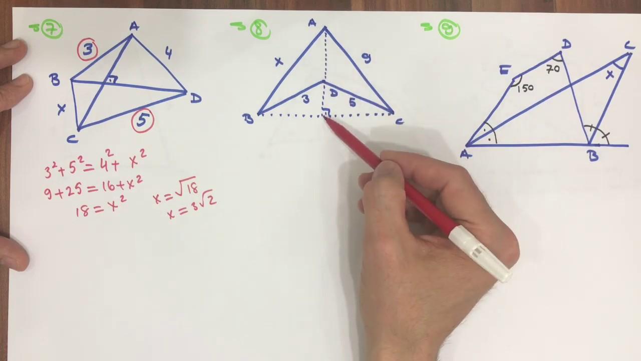 DÖRTGENLER -3 (Dörtgenler soru çözümü)