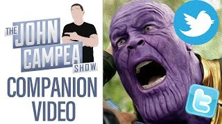 Thanos Taken Down In Endgame By Resurfaced 10 Yr Old Tweets - TJCS Companion Video
