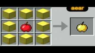 Все рецепты крафта на MineCraft