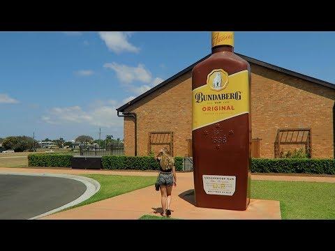 DAY 20 - BUNDABERG RUM DISTILLERY TOUR | Road Trip Australia