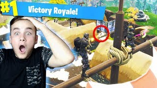 THE NEW HIDEOUT ON FORTNITE!! * SECRET STRATEGY *