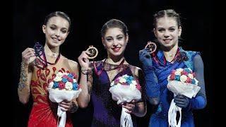 Victory Ceremony Ladies Grand Prix Final 2019 2020 Triumph