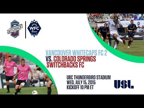 USL: Whitecaps FC 2 vs. Colorado Springs FC
