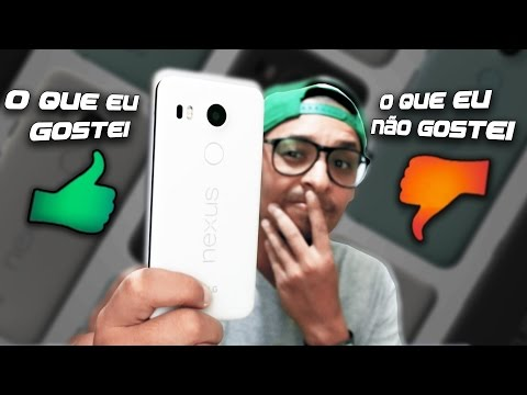 O que eu gostei e não gostei no LG Nexus 5X