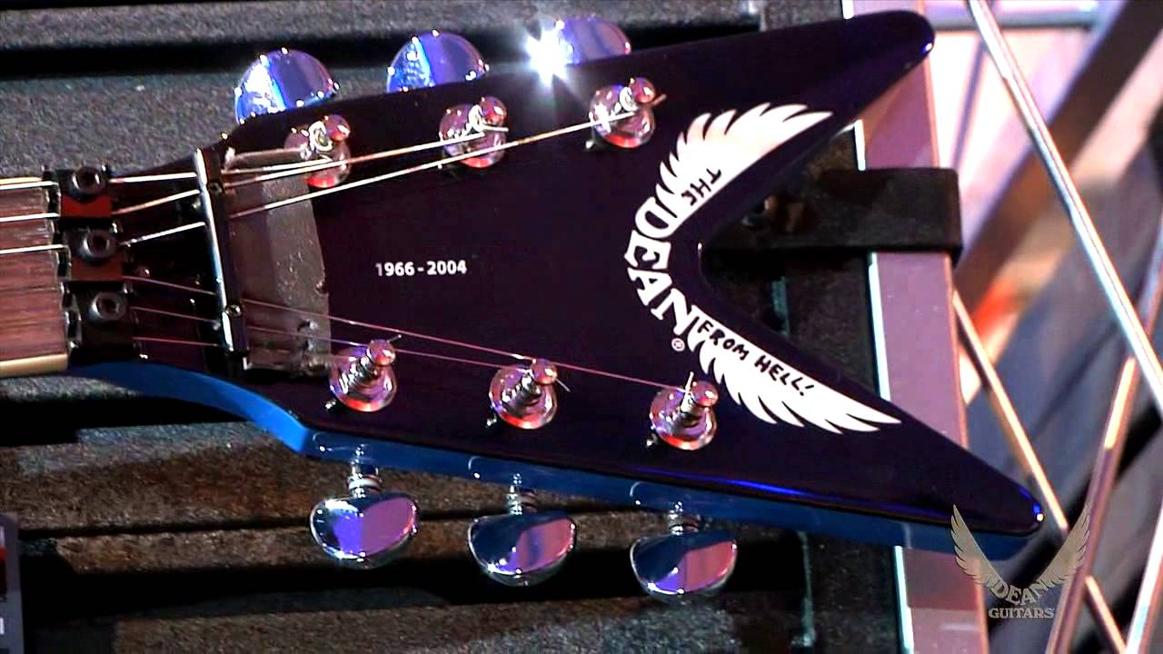 dean guitars 2015 n a m m highlights original dean from hell youtube. Black Bedroom Furniture Sets. Home Design Ideas