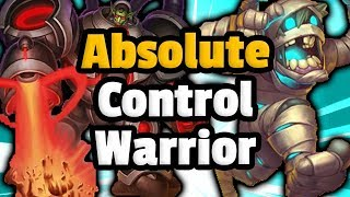 Absolute Control Warrior Is BACK - Hearthstone Descent Of Dragons