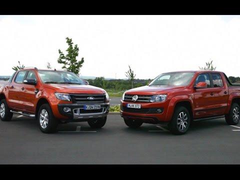 2 PickUps Im Vergleich: Ford Ranger Vs. VW Amarok